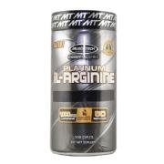 MuscleTech Platinum 100% L-Arginine,  100 caplets