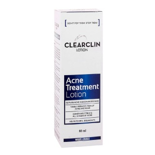West Coast Clearclin Acne Treatment Lotion,  60 ml  for All Skin