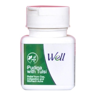 Modicare Well Pudina with Tulsi,  100 softgels