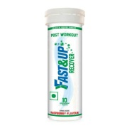 Fast & Up Post Workout Recover,  10 tablet(s)  Raspberry