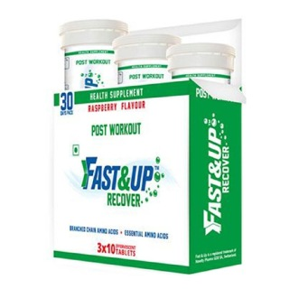 Fast & Up Post Workout Recover,  30 tablet(s)  Raspberry