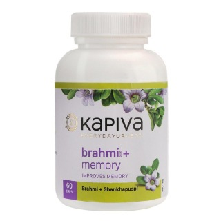 Kapiva Brahmi + Memory,  60 capsules