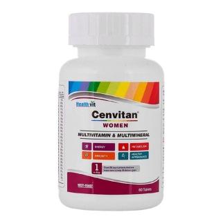 Healthvit Cenvitan Women,  60 tablet(s)  Unflavoured