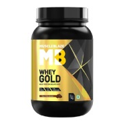 MuscleBlaze Whey Gold Protein,  2.2 lb  Rich Milk Chocolate