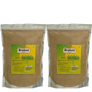 Herbal Hills Brahmi Powder Pack of 2,  1 kg