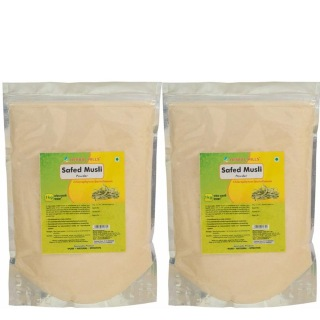 Herbal Hills Safed Musli Powder Pack of 2,  1 kg
