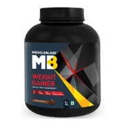 MuscleBlaze Weight Gainer with Added Digezyme,  6.6 lb  Chocolate