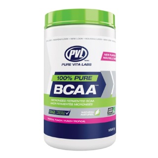 PVL 100% Pure BCAA,  2.2 lb  Tropical Punch