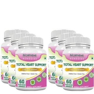 Morpheme Remedies Total Heart Support,  6 Piece(s)/Pack