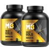 MuscleBlaze Whey Gold 4.4 lb Rich Milk Chocolate - Pack of 2