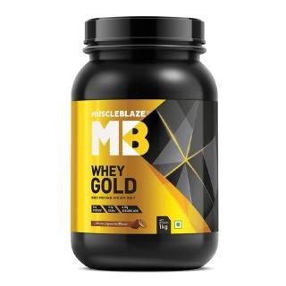 मसलब्लेज़ व्हे गोल्ड प्रोटीन, 2.2 lb मोका कैपेचीनो