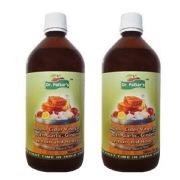 Dr. Patkar's Apple Cider Vinegar Pack of 2, 0.5 L Garlic