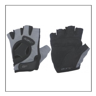 Biofit Classic Gloves Womens (1100),  Gray & Black  Small
