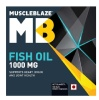 MuscleBlaze Fish Oil (1000 mg), 180 softgels(Highlight)