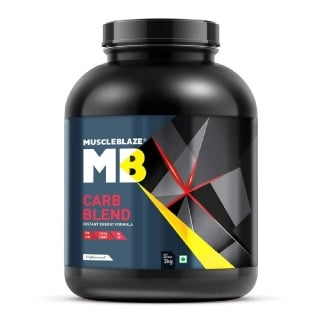 MuscleBlaze Carb Blend,  6.6 lb  Unflavoured