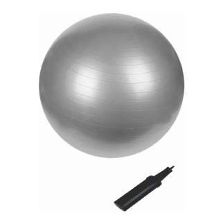 B Fit USA Anti Burst Gym Ball (3629-85),  Silver  85 cm