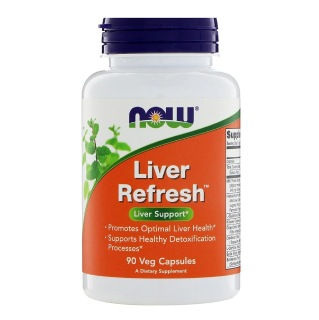 Now Liver Refresh,  90 capsules