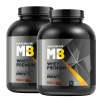 MuscleBlaze Whey Premium 4.4 lb Rich Milk Chocolate - Pack of 2