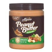 Alpino Peanut Butter (Unsweetened),  Natural Smooth  1 kg