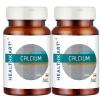 HealthKart Calcium Unflavoured 60 capsules - Pack of 2