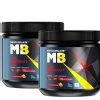 MuscleBlaze PRE Workout 300 Fruit Punch - Pack of 2