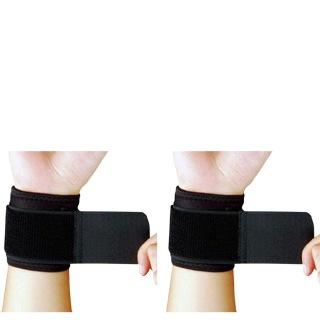 B Fit USA Wrist Support (326),  Black  Free Size