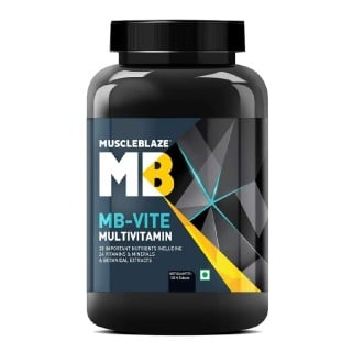 MuscleBlaze MB-VITE Multivitamin,  Unflavoured  120 tablet(s)