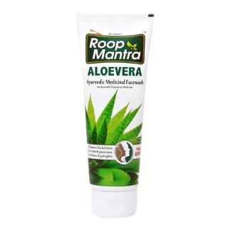 Roop Mantra Aloe Vera Face Wash,  115 ml  for All Skin Types