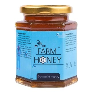 Farm Honey Spearmint Honey,  350 g  Unflavoured