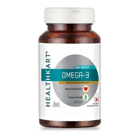 Healthkart Omega 3 (90 Capsules)