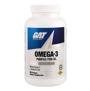 GAT Omega 3 Natural Lemon,  90 softgels