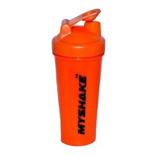 Myshake Classic Protein Shaker,  Orange  600 ml
