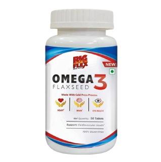 1 - Big Flex Omega 3 Flaxseed,  90 tablet(s)