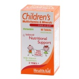 HealthAid Children's Multivitamins & Minerals,  Tutti Frutti  90 chewable tablet(s)