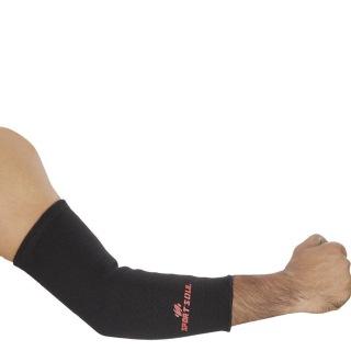 1 - SportSoul Premium Compression Elbow Support,  Black  Small