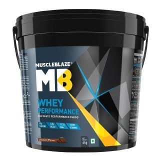 MuscleBlaze Whey Performance (70%) Protein,  8.8 lb  Chocolate