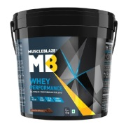 MuscleBlaze Whey Performance (70%) Protein, 8 8 lb Chocolate