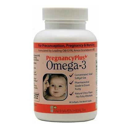 Fairhaven PregnancyPlus Omega 3,  90 capsules/pack