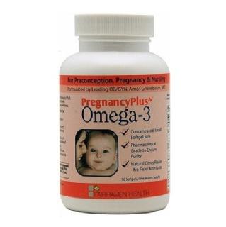 Fairhaven PregnancyPlus Omega 3,  90 capsules