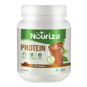 Nouriza Protein with Whey, Soy & Casein,  2.2 lb  Swiss Milk Chocolate