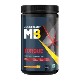 9 - MuscleBlaze Torque Pre-Workout,  0.99 lb  Orange