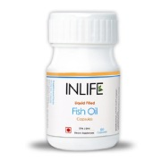 INLIFE Fish Oil,  60 Capsules
