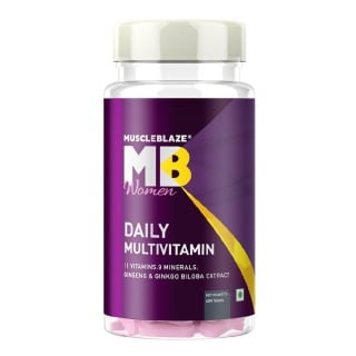 MuscleBlaze Women Daily Multivitamin,  Unflavoured  60 tablet(s)