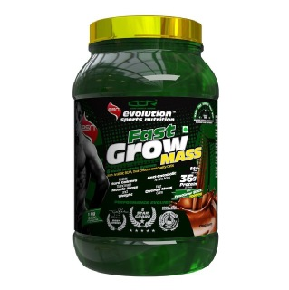 ESN Fast Grow Mass (Weight Gainer),  Chocolate  2.2 Lb