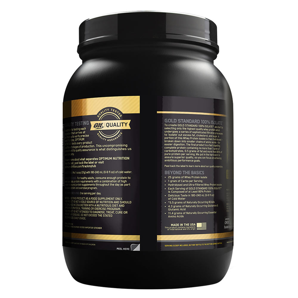 7303002f3 Benefit1 - ON (Optimum Nutrition) Gold Standard 100% Isolate