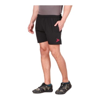 4 - Fitinc N S Lycra Shorts with Both Side Safety Zippered Pockets,  XXL  Black