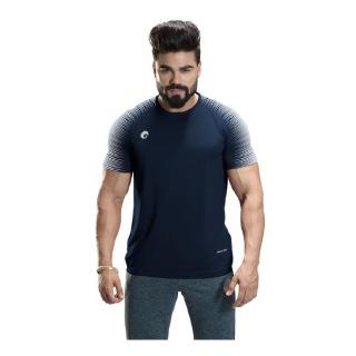 1 - Omtex Gym T Shirt Spider 007,  Blue  XL