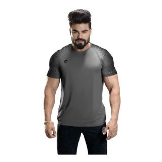 1 - Omtex Gym T Shirt Spider 007,  Grey  XXL
