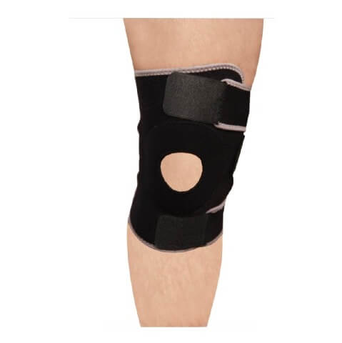 Hawk Knee Support,  Black & Grey  Free Size