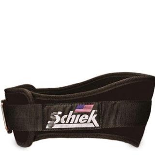 Schiek Workout Belt 6 Inch,  Black  Xtra Large